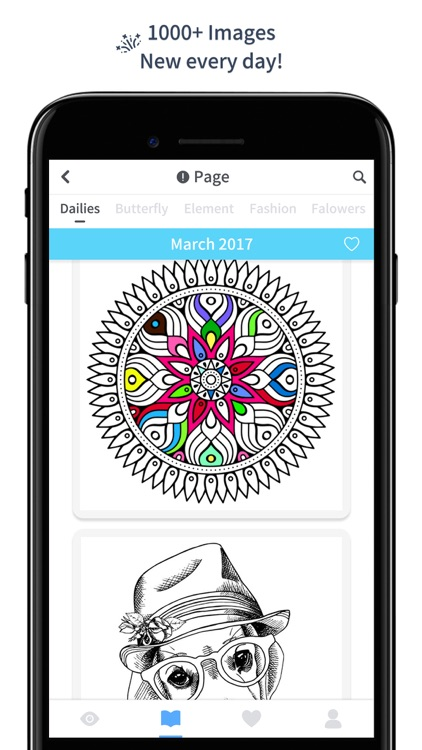 Color Doodle - Adults Coloring Book & Pigment Page screenshot-3