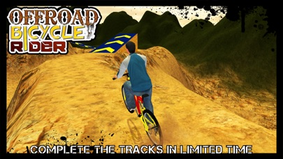 Offroad Bicycle Rider & uphill cycle simulator 3D screenshot four