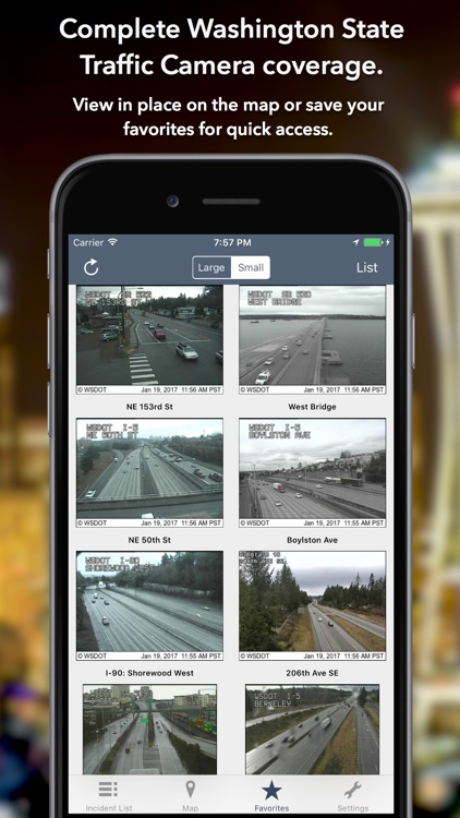 Washington Roads - Traffic Reports & Cameras screenshot-0
