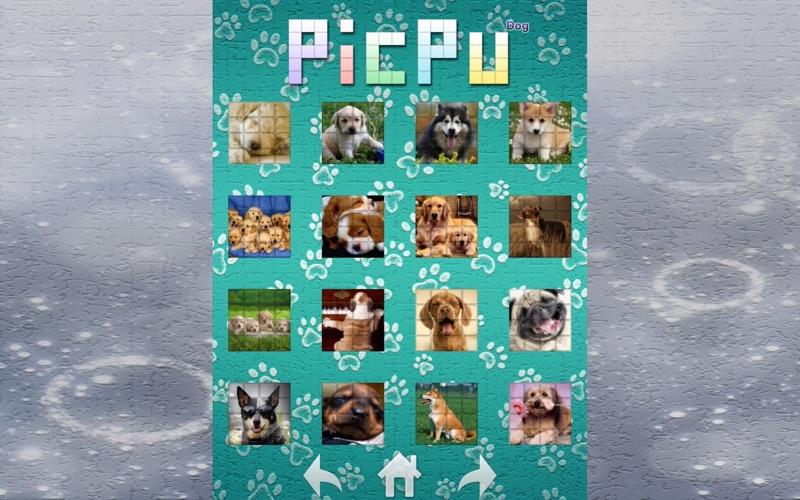 Screenshot #1 pour PicPu Dog Puzzle