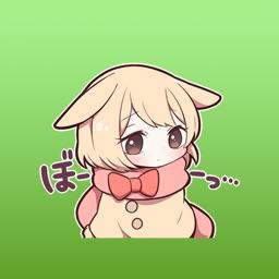 Mimi Bunny Cute Girl Japanese Sticker Vol 3