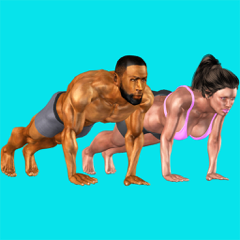 Chrono PushUps: 3D Trainer
