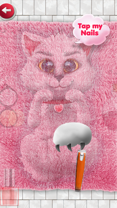 Kitten Salon : kitty games & kids games for girls screenshot three