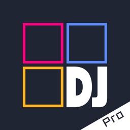 DJ Pad Pro - dj mixer & music maker