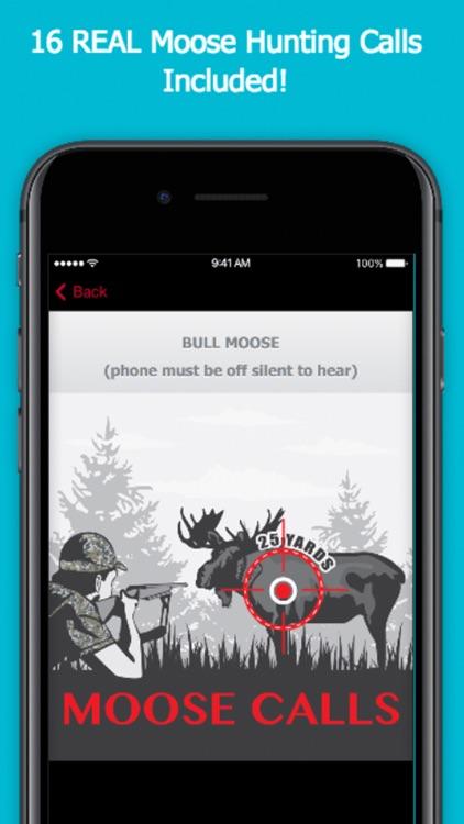 Moose Calls for Big Game Hunting