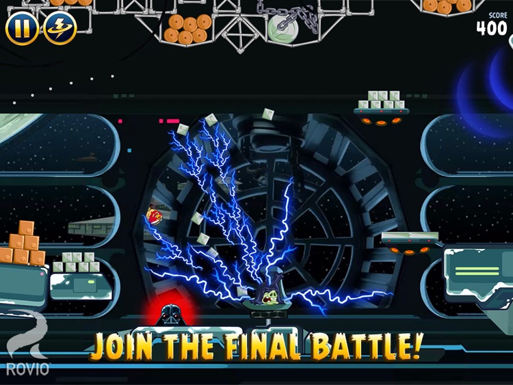 Angry Birds Star Wars HD screenshot-4