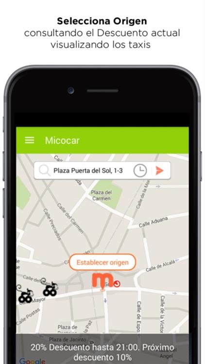 Micocar Taxi Descuentos App