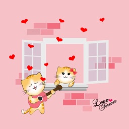 Ginger Cat Valentine Pack