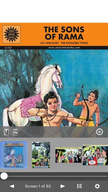 The Sons Of Rama -  Amar Chitra Katha Comics