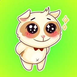 Cute and Happy Puppies Stickers