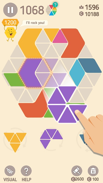 Make Hexa Puzzle screenshot-0