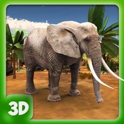 Jungle Wild Elephant Life - Animals Game