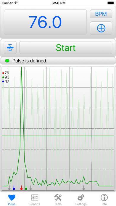 iHeart - Pulse Reader Screenshot 1