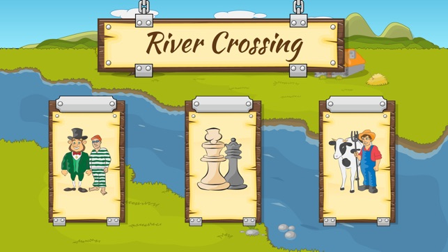River Crossing IQ Logic Puzzles & Fun Brain Games on the App