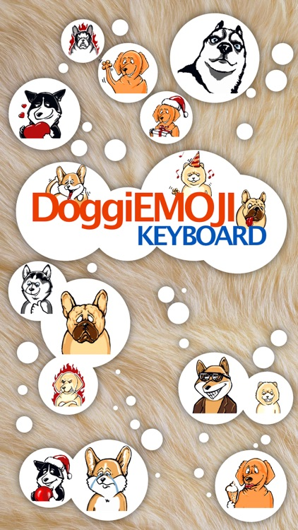 DoggiEMOJI - The best Dog Emoji Keyboard
