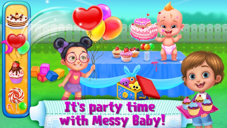 OMG! Messy Baby screenshot-1