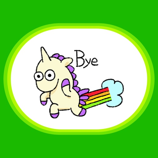 Unicorn Sticker - pony stickers for iMessage