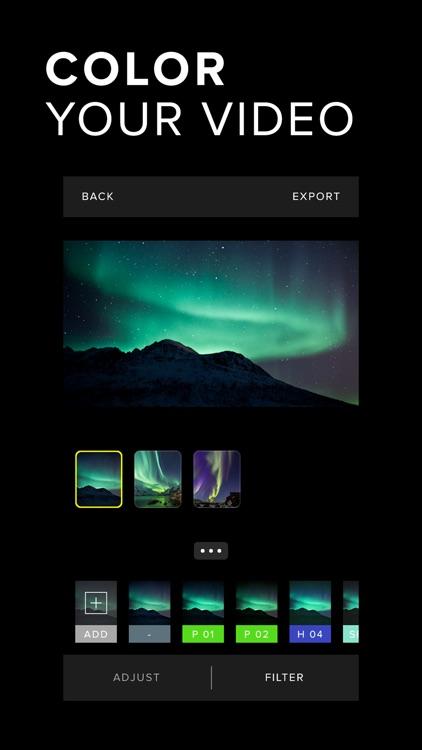 Carve Video Editor - Cinematic Filters screenshot-0