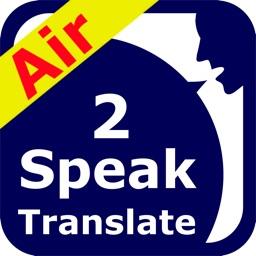 SpeakText Air 2 (Speak 100+ & Translate 50+)