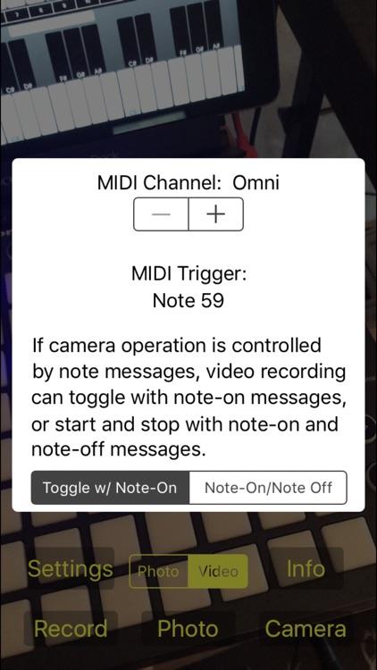 MIDI Camera