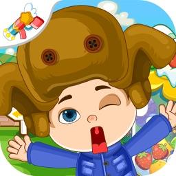 光头强水果大冒险-宝宝认识动物蔬菜水果儿童启蒙认识早教游戏
