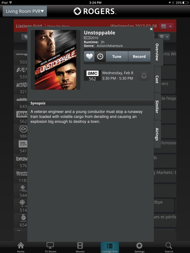 Remote Pvr Manager For Ipad Atl On The App Store