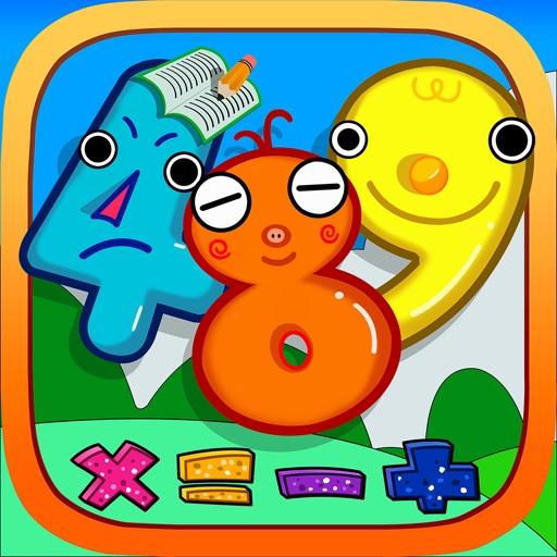 数学天天练-3-6岁儿童数学逻辑新体验 iOS App