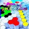 ブロック六角宝石パズル
