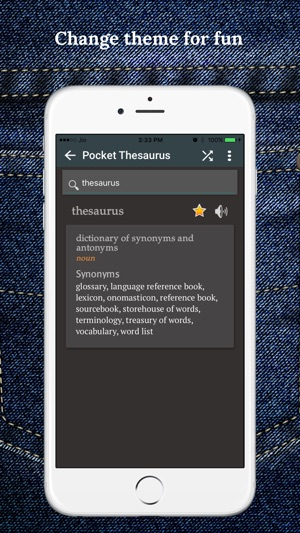 Pocket Thesaurus on the App Store