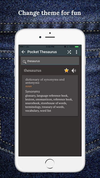 Pocket Thesaurus screenshot-4