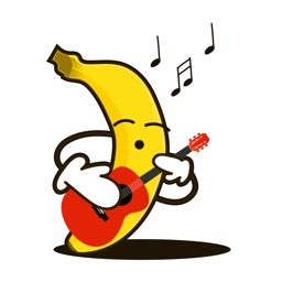 Funny Banana Stickers for your chat messages
