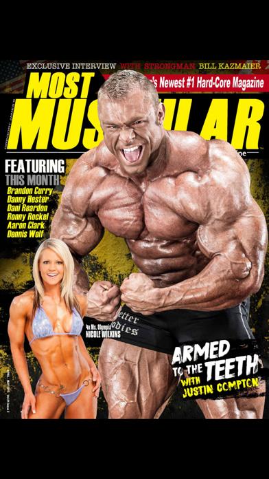Most Muscular Magazine screenshot 1