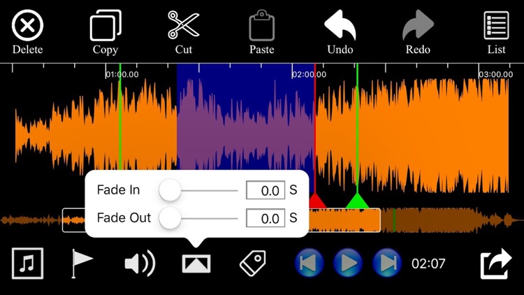 Audio Trim & Audio Split Edit Pro screenshot-3