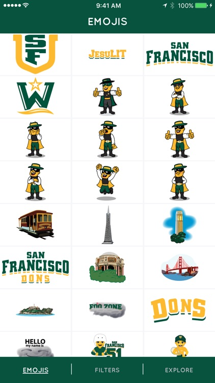 USF Emojis & Filters screenshot-4