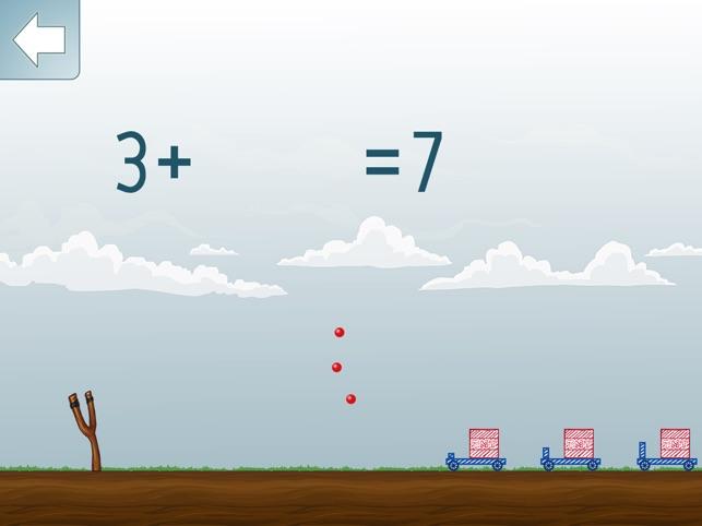 Math Shot Addieren bis 10 Screenshot