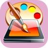 رسم على الصور - الكتابة والرسم على صور و تلوين - iPhoneアプリ