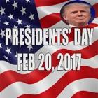 Presidents Day 2017 icon