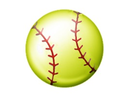 Softball emojis for your iPhone, iPad or iPod Touch