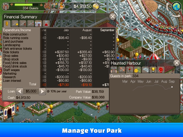 ‎RollerCoaster Tycoon® Classic