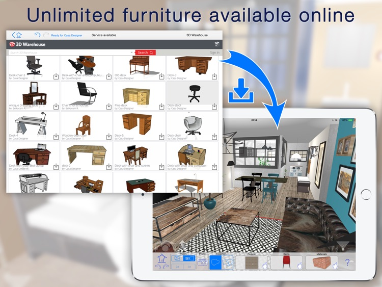 Casa Designer 3D - Home Makeover screenshot-1