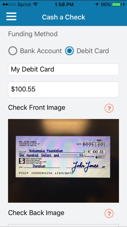 Lodefast Check Cashing App by Lodestar Financial Group, LLC