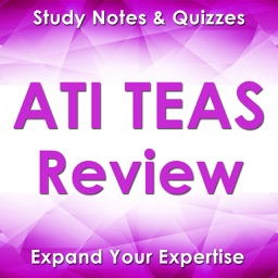 TEAS Exam Review App- 1300 Study Notes & Quizzes