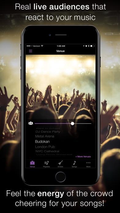 LiveTunes - Concert FX Player Screenshots
