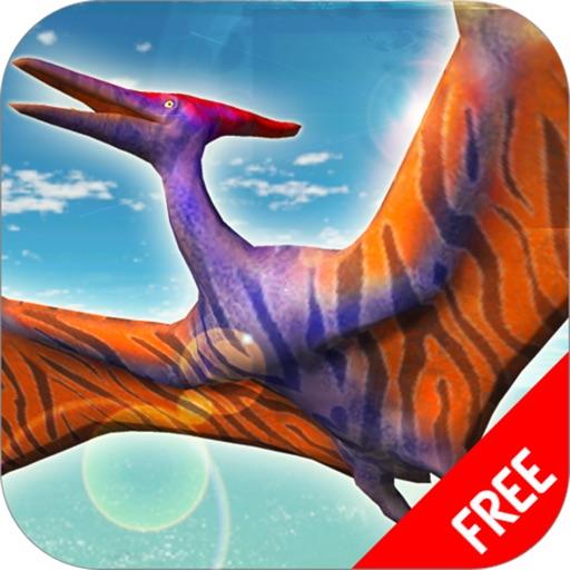 Полет птеродактиль имитатор : игра дикие динозавры