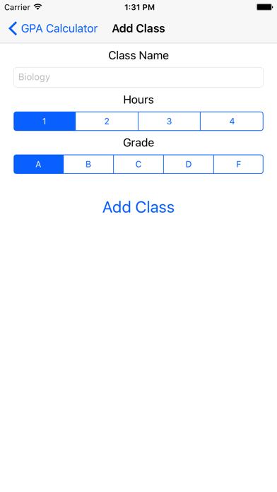 GPA Calculator - Grade Point Average Calculator screenshot two