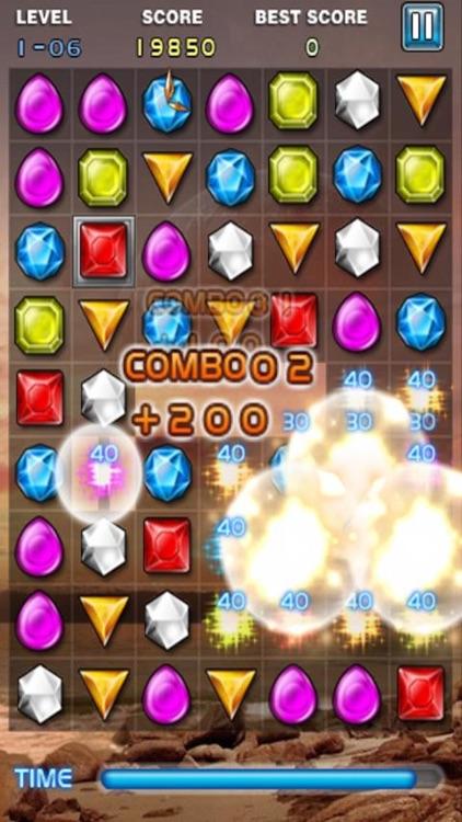 Jewel Deluxe Mania - Match 3 Splash Free Games