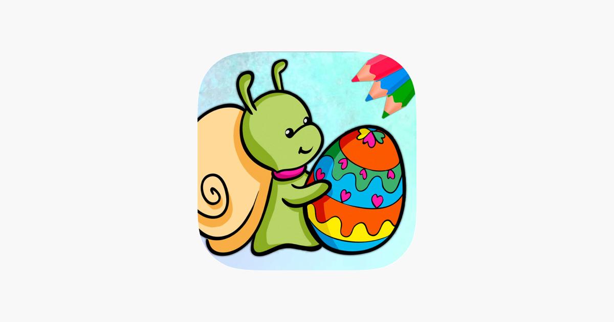 Paskalya Yumurtasi Boyama Kitabi Yumurta Sepeti App Store Da