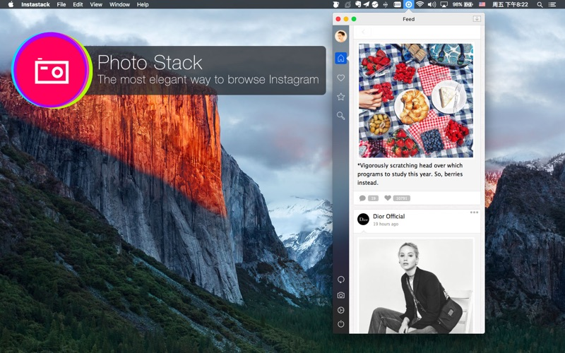 PhotoStack for Instagram Screenshots