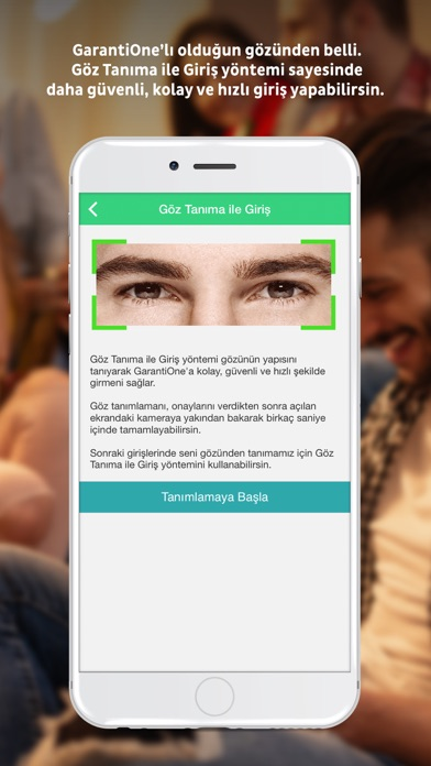 GarantiOne screenshot