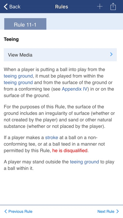 Decisions on the Rules of Golf screenshot-4